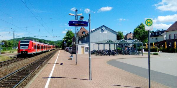 KM 0,0 / Bahnhof Remchingen-Wilferdingen
