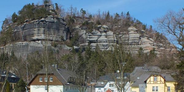 Oybin(Berg und Café)