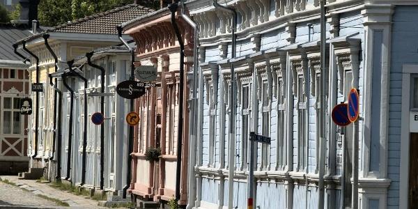 Historische Gebäude in Rauma
