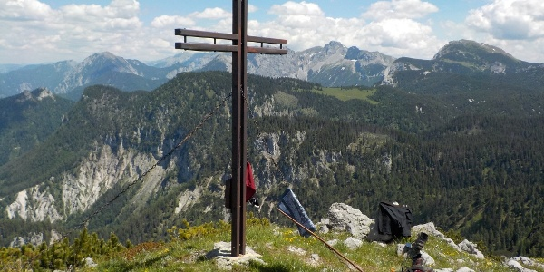 Gipfel Gr. Geiger in Hinterwildalpen