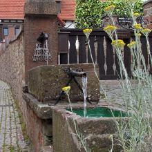 Brunnen in Dörrenbach