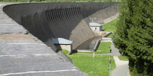 Staumauer Talsperre Muldenberg