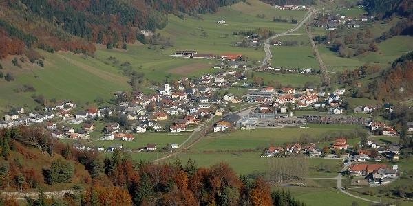Gaflenz vom Heiligenstein gesehen