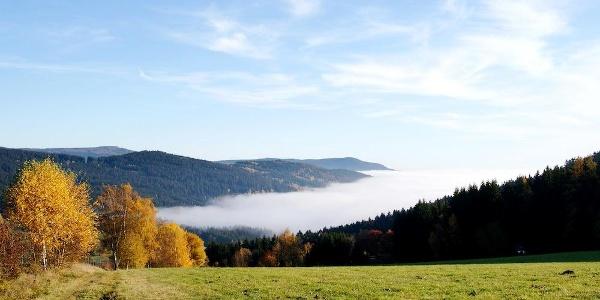 Herbstfernsicht von Maibrunn