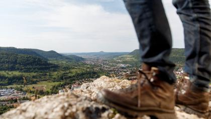 Ausblick vom Helfenstein