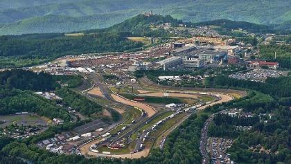 Luftaufnahmen Grand-Prix-Strecke