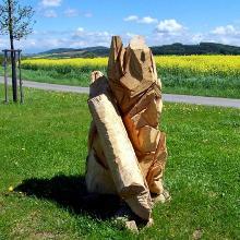 Skulptur am Bibelweg