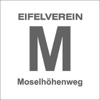 Markierungszeichen des Moselhöhenweges