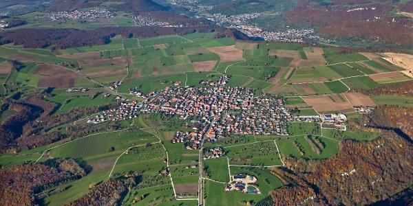Grabenstetten Luftbild