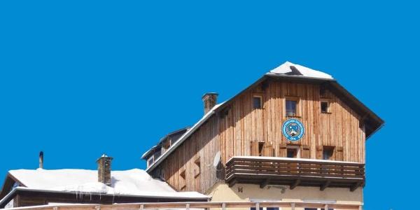 Das Speiereck-Schutzhaus des ÖTK ist im Winter eine beliebte Ski-Hütte
