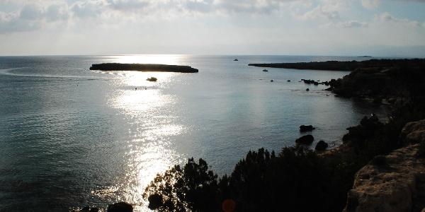 Die Vogelinsel Agios Georgios