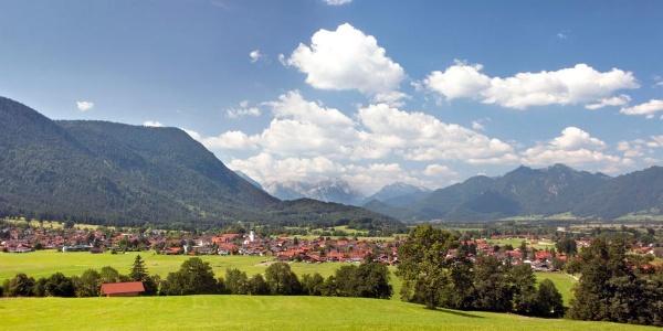 Wanderung - Bichelrain-Rundwanderweg - Blick auf Ohlstadt