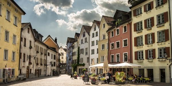 Arcas Platz in der Churer Altstadt