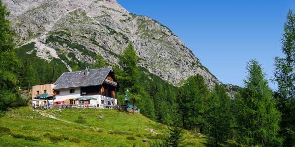 Kerschbaumeralm-Schutzhaus des ÖTK, Lienzer Dolomiten