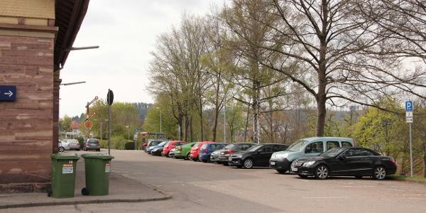 Parkplatz Bahnhof Nagold