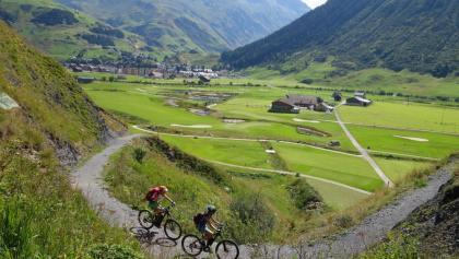 E-MTB Schnuppertour Andermatt Gotthard Erlebnis mehr Spass