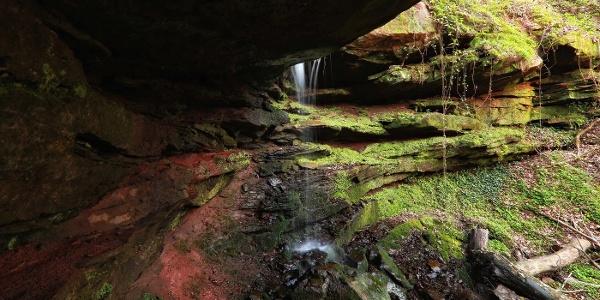 Großer Wasserfall Hexenklamm