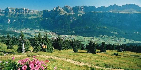 Aussicht vom Berghotel Schönhalden