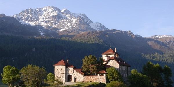 Schloss in Silvaplana
