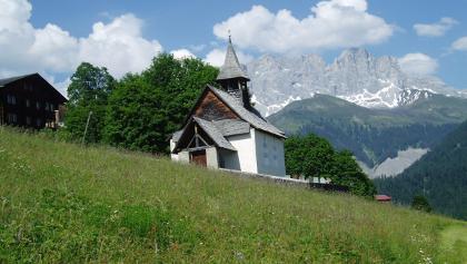 Chapel in Schuders 1272 m ü.M.