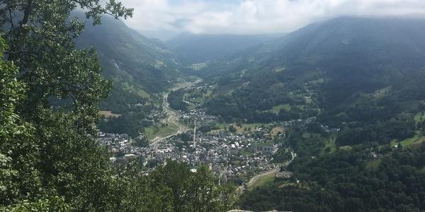 View of Luz St Sauveur