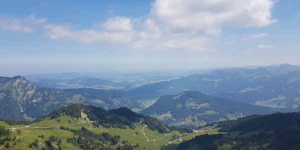 Wunderbares Bergpanorama in Damüls