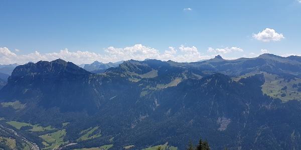Panoramablick von der Hangpsitze