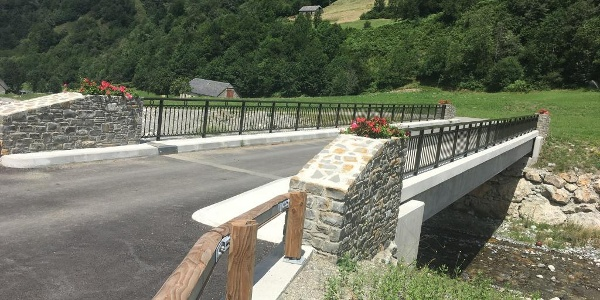 New bridge near Betpouey