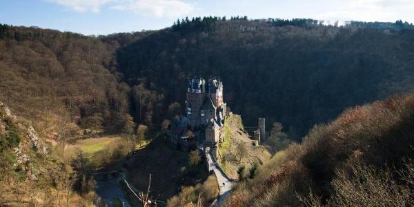 Aus jeder Perspektive schön: Burg Eltz