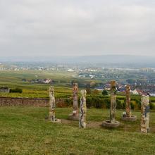 Aussicht von der Abtei St. Hildegard