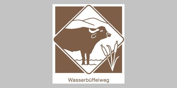 Wegekennzeichnung  Wasserbüffelweg