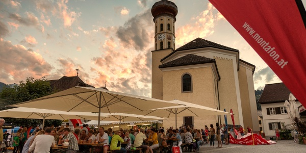 Kirchplatz Schruns