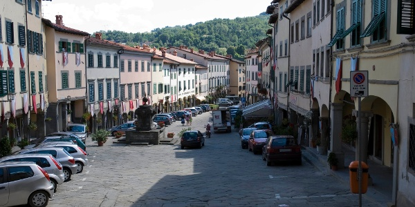 Piazza Tanucci in Stia