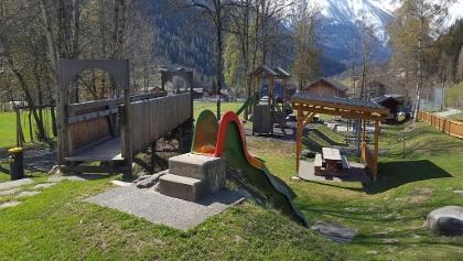 Spielplatz Fieschertal