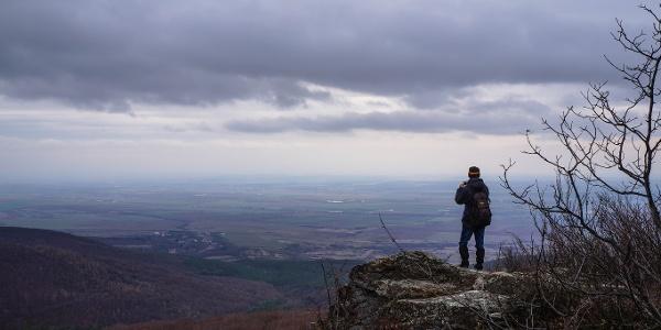 Panoráma a Hernád völgyére