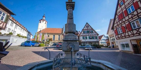 Marktbrunnen Waldenbuch