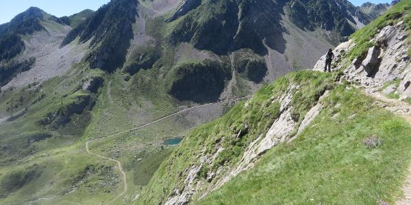 Mountainside path