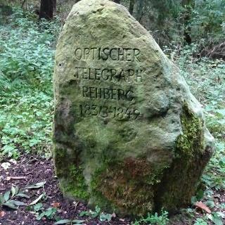 Stein am Optischen Telegraphen