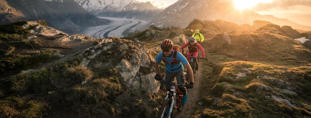 Stoneman Glaciara - Der grösste Gletscher der Alpen: Aletschgletscher