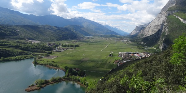 View from the ferrata Pisetta