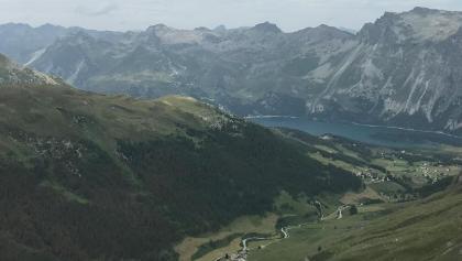 Panorama aus dem Piz Chüern