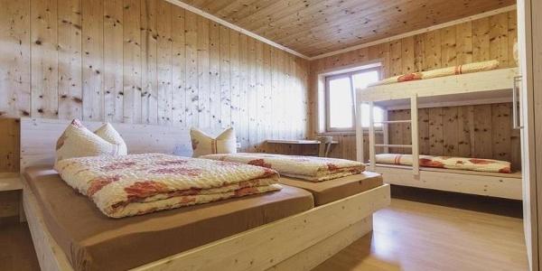 Zimmerlager Douglass Hütte