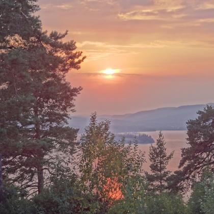 Rest stop near Sundsvall