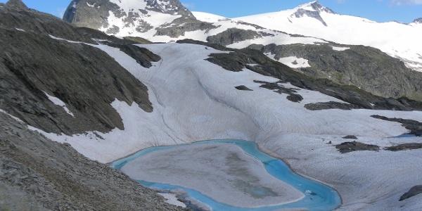Eissee unter dem Mörchner