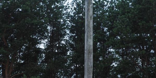 Cross on the Yew mountain