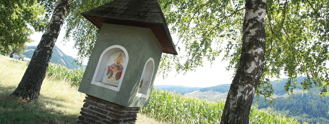 Die Kapelle ist dem Hl. Christophorus