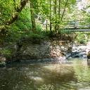 Achtsamkeitspunkt 4: Inspiration - Germanenbrücke und Wasserfall