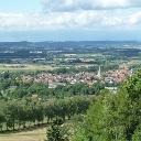Blick vom Holsterturm auf Nieheim