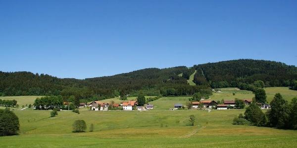 Blick auf Klinglbach mit Pröller
