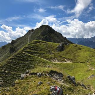 Gipfel Kramerspitz